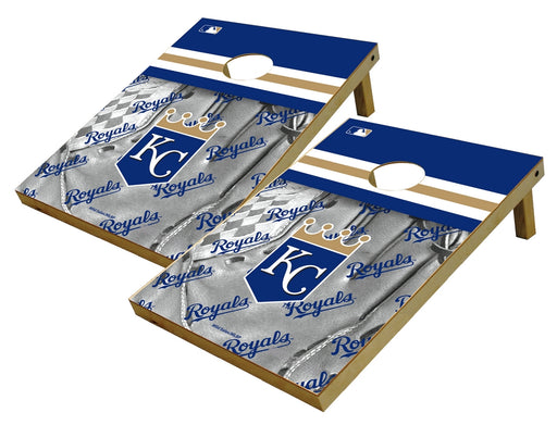 Kansas City Royals 2x3 Cornhole Board Set - Glove