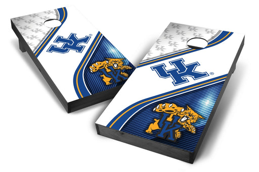 Kentucky Wildcats 2x4 Cornhole Board Set Onyx Stained - Swirl