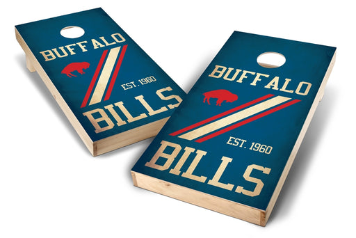 Buffalo Bills 2x4 Cornhole Board Set - Nostalgia