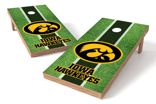 Iowa Hawkeyes 2x4 Cornhole Board Set - Field