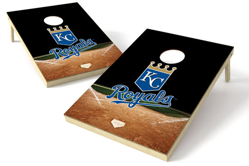 Kansas City Royals 2x3 Cornhole Board Set - Home Plate