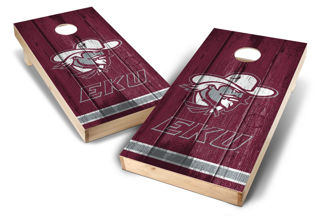 Eastern Kentucky Colonels 2x4 Cornhole Board Set - Vintage