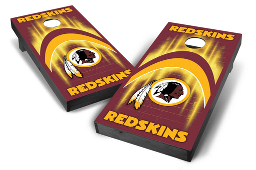 Washington Redskins 2x4 Cornhole Board Set Onyx Stained - Arch