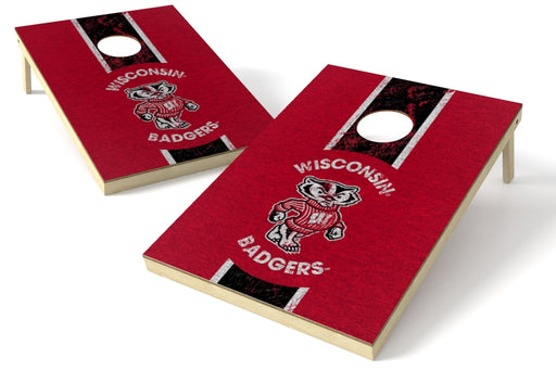 Wisconsin Badgers 2x3 Cornhole Board Set - Heritage