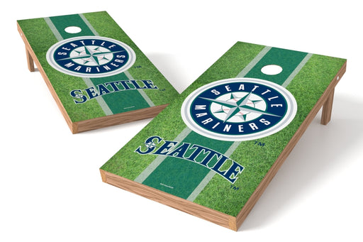 Seattle Mariners 2x4 Cornhole Board Set - Field