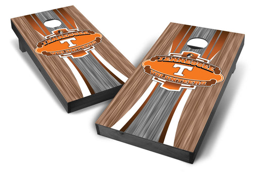 Tennessee Volunteers 2x4 Cornhole Board Set Onyx Stained - Wood
