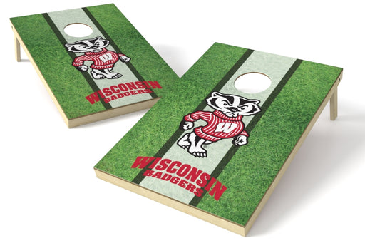 Wisconsin Badgers 2x3 Cornhole Board Set - Field