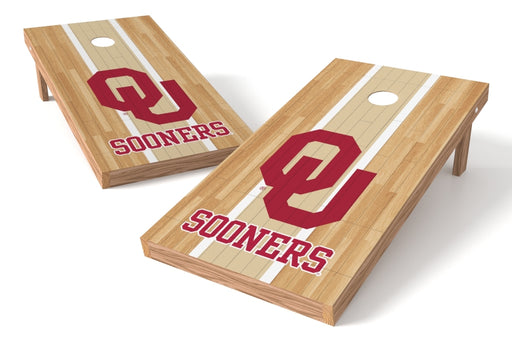 Oklahoma Sooners 2x4 Cornhole Board Set - Wood