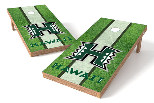 Hawaii 2x4 Cornhole Board Set - Field