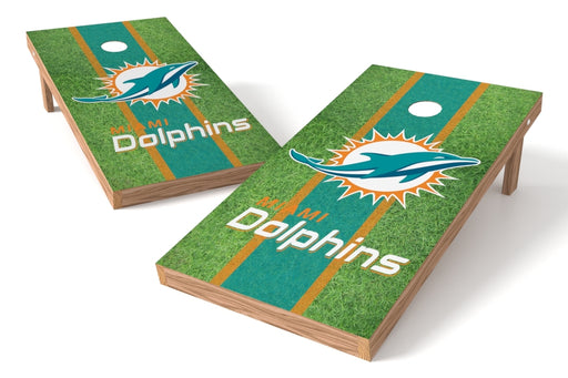 Miami Dolphins 2x4 Cornhole Board Set - Field