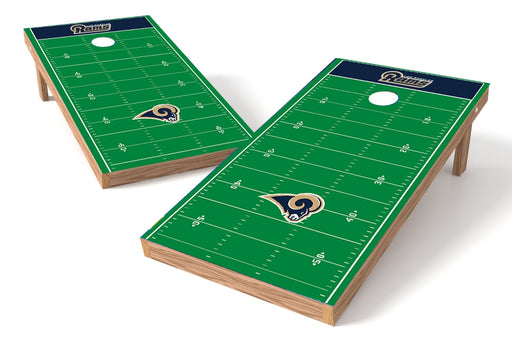 Los Angeles Rams 2x4 Cornhole Board Set - Field