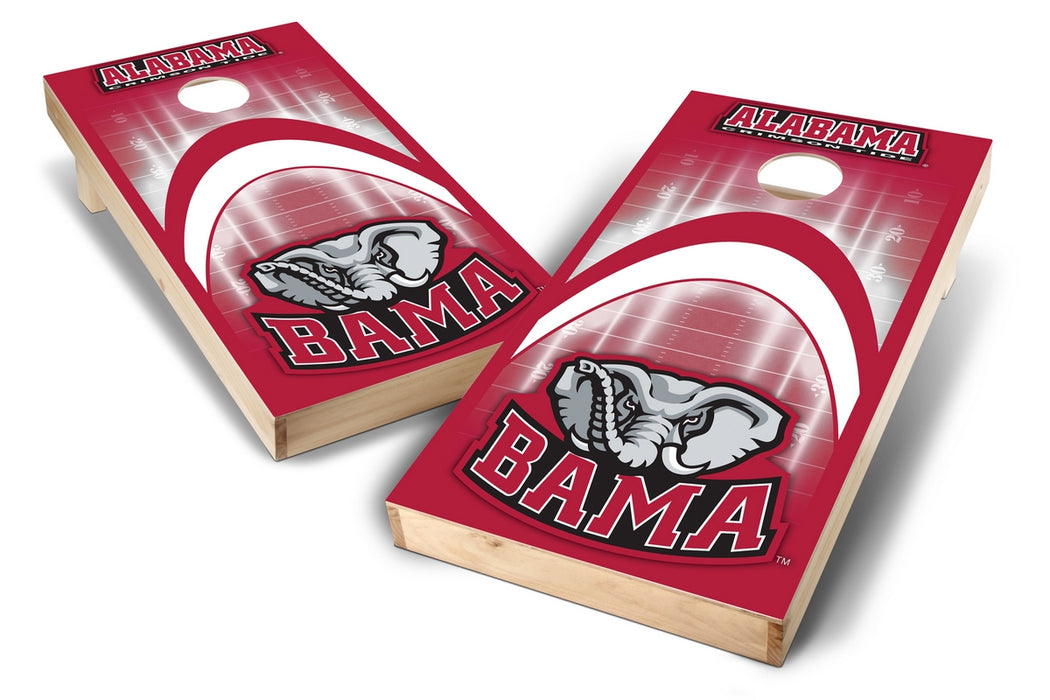Alabama Crimson Tide 2x4 Cornhole Board Set - Arch