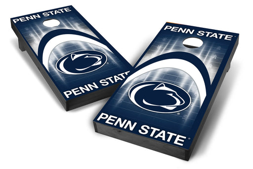 Penn State Nittany Lions 2x4 Cornhole Board Set Onyx Stained - Arch