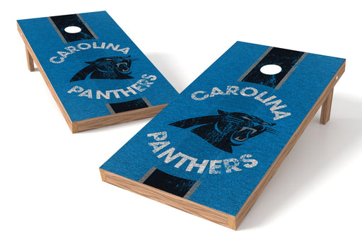 Carolina Panthers 2x4 Cornhole Board Set - Heritage