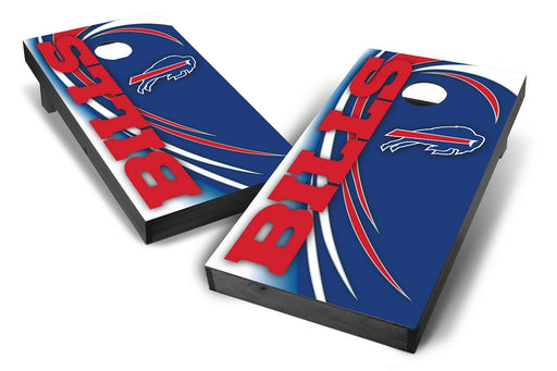 Buffalo Bills 2x4 Cornhole Board Set Onyx Stained - Spiral