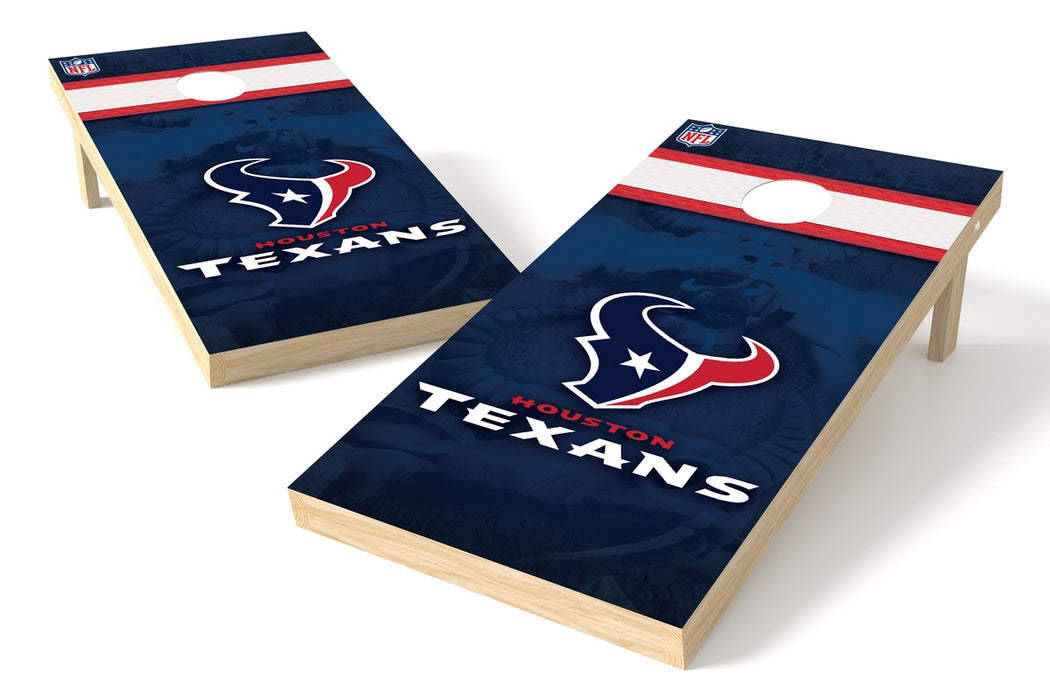 Houston Texans 2x4 Cornhole Board Set - Logo
