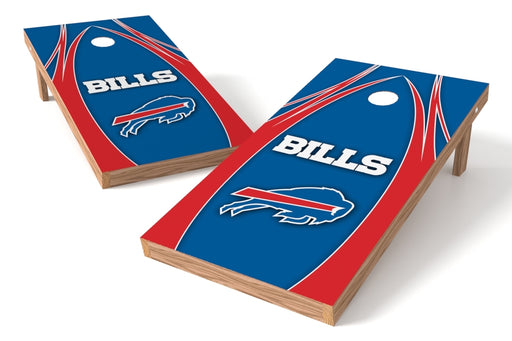 Buffalo Bills 2x4 Cornhole Board Set - Edge
