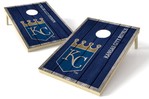 Kansas City Royals 2x3 Cornhole Board Set - Vintage