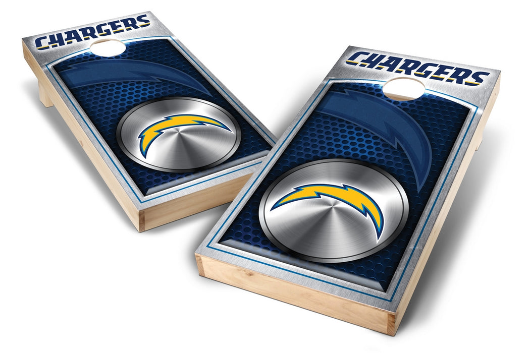 Los Angeles Chargers  2x4 Cornhole Board Set - Medallion