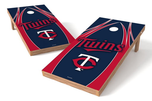 Minnesota Twins 2x4 Cornhole Board Set - Edge
