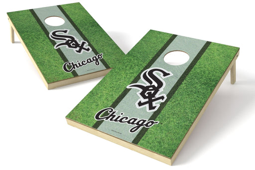 Chicago White Sox 2x3 Cornhole Board Set - Field