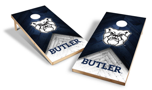 Butler Bulldogs 2x4 Cornhole Board Set - Weathered