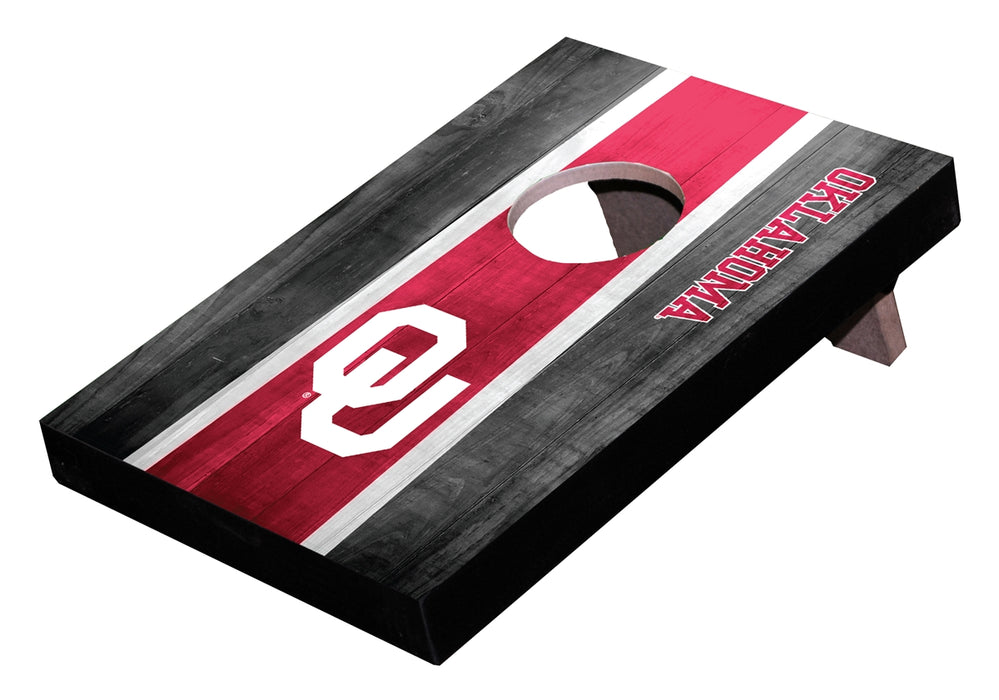 OKLAHOMA NCAA College 10x6.7x1.4-inch Table Top Toss Desk Game