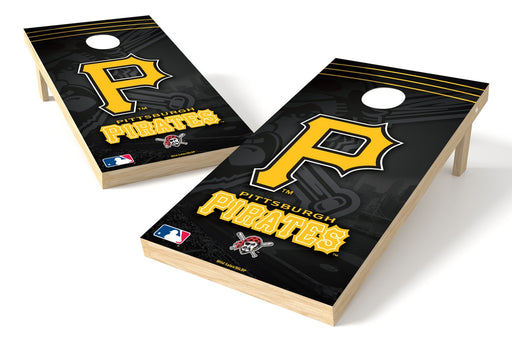 Pittsburgh Pirates 2x4 Cornhole Board Set - Logo