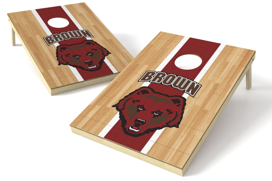Brown 2x3 Cornhole Board Set - Hardwood