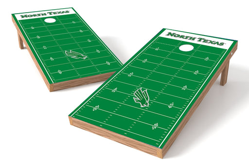 North Texas 2x4 Cornhole Board Set - Field