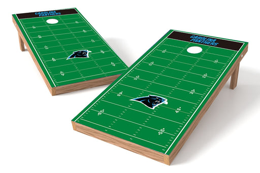 Carolina Panthers 2x4 Cornhole Board Set - Field