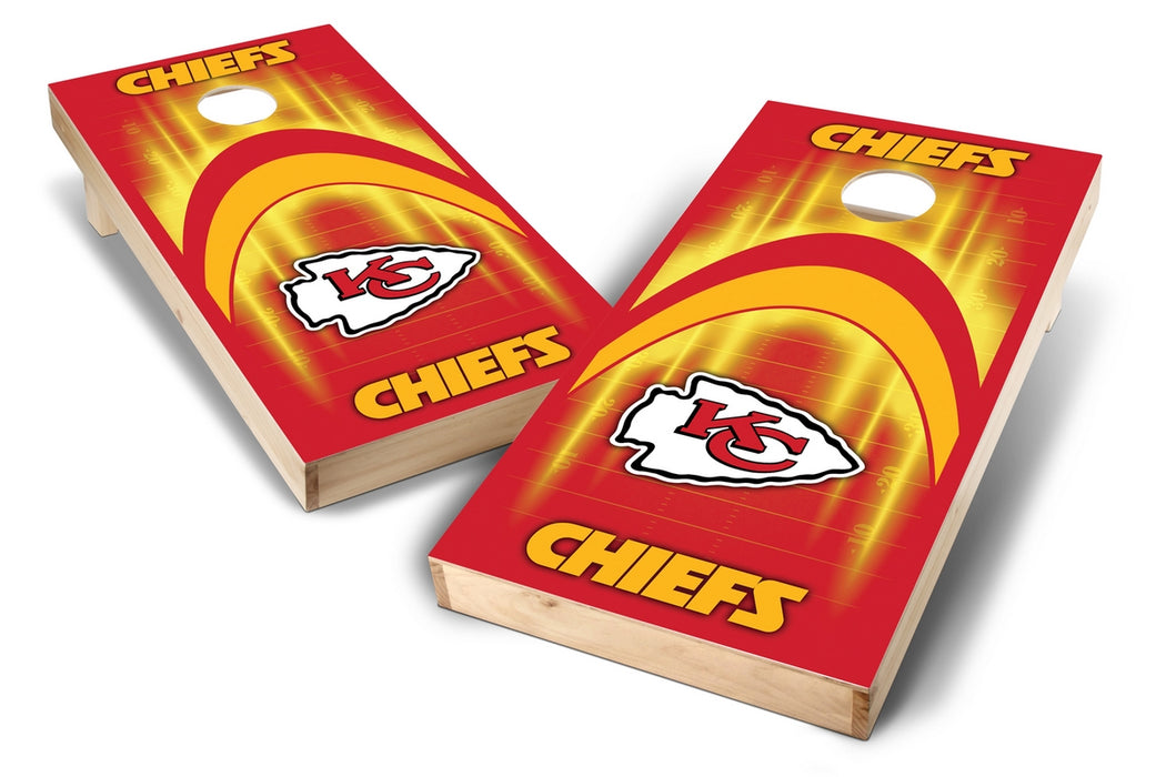 Kansas City Chiefs 2x4 Cornhole Board Set - Arch