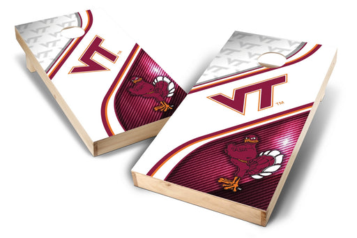 Virginia Tech Hokies 2x4 Cornhole Board Set - Swirl