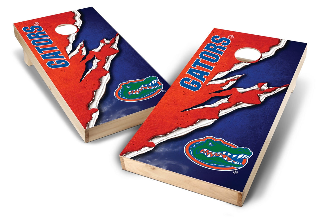 Florida Gators 2x4 Cornhole Board Set - Ripped