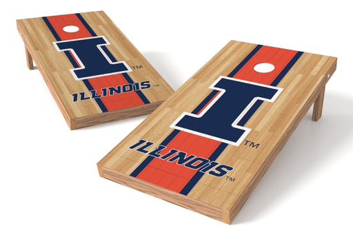 Illinois Fightin Illini 2x4 Cornhole Board Set - Wood
