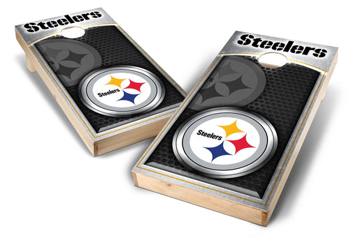 Pittsburgh Steelers   2x4 Cornhole Board Set - Medallion