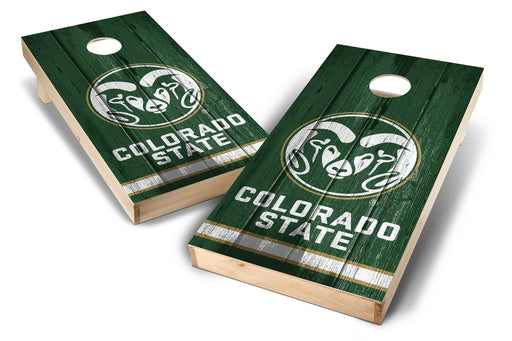 Colorado State Rams 2x4 Cornhole Board Set - Vintage