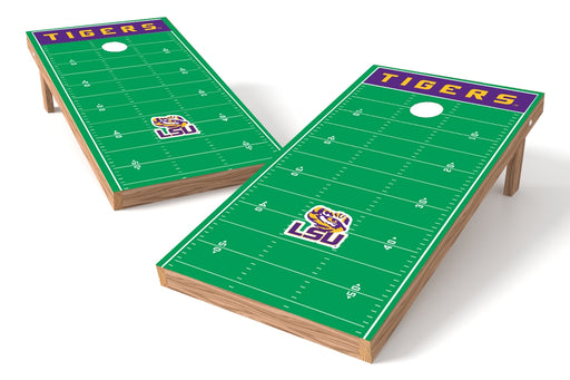 LSU Tigers 2x4 Cornhole Board Set - Field
