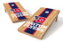 Dayton, U of 2x4 Cornhole Board Set - Wood