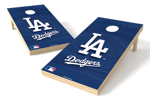 Los Angeles Dodgers 2x4 Cornhole Board Set - Logo