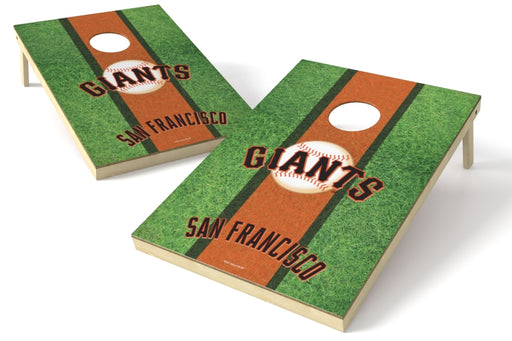 San Francisco Giants 2x3 Cornhole Board Set - Field