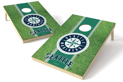 Seattle Mariners 2x3 Cornhole Board Set - Field