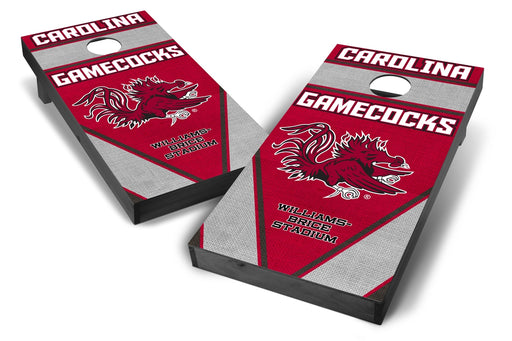 South Carolina Gamecocks 2x4 Cornhole Board Set Onyx Stained - Burlap