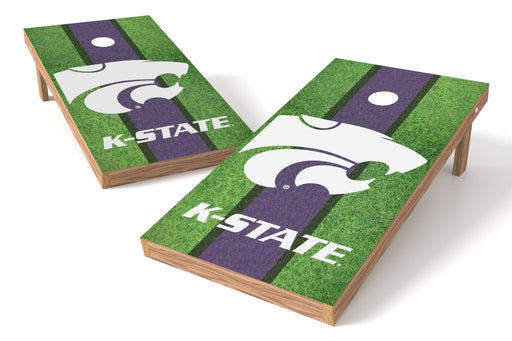 Kansas State Wildcats 2x4 Cornhole Board Set - Field