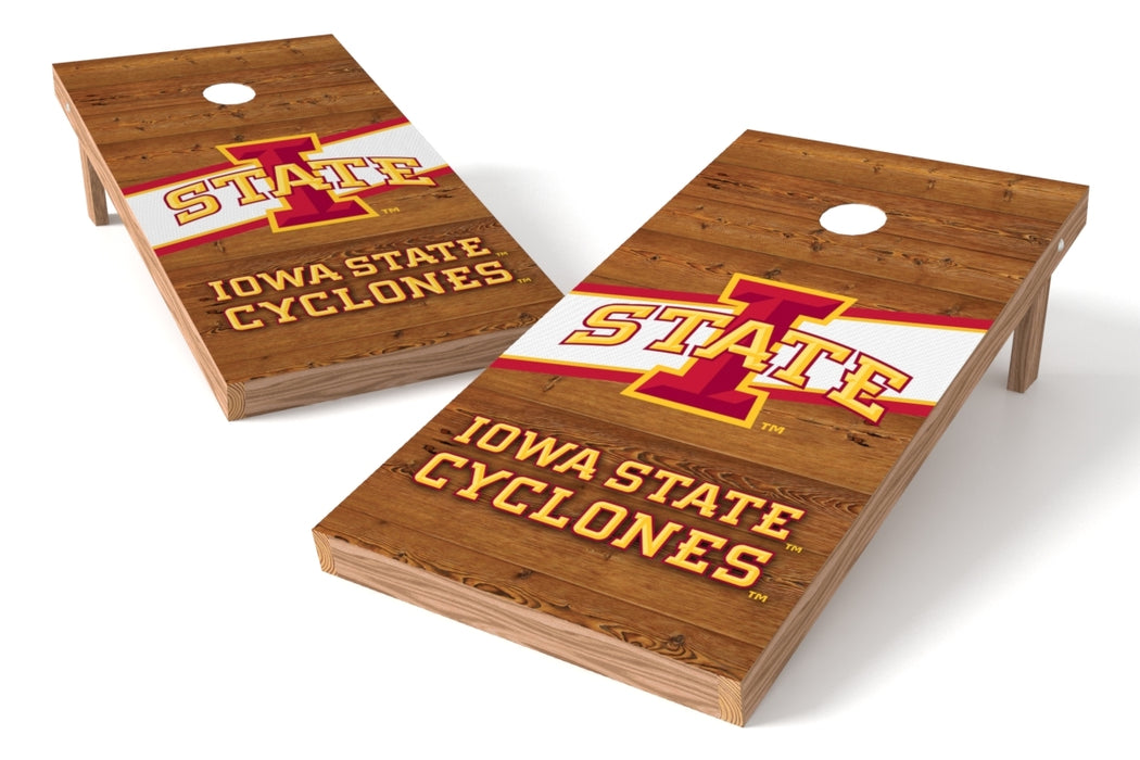 Iowa State Cyclones 2x4 Cornhole Board Set - Logo