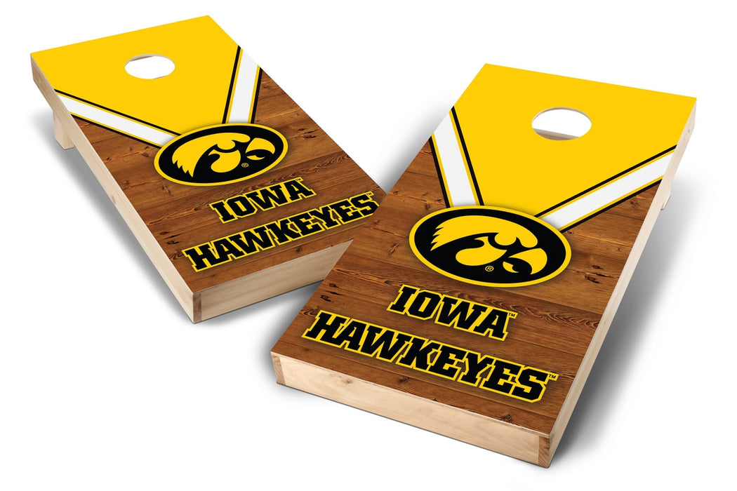Iowa Hawkeyes 2x4 Cornhole Board Set - Uniform