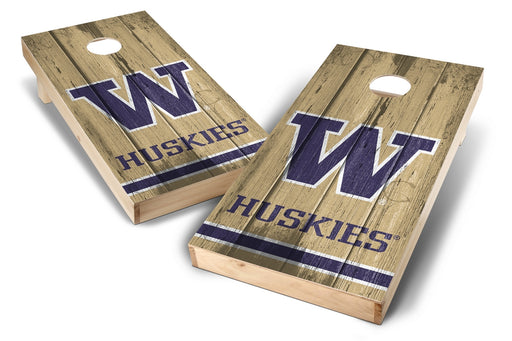 Washington Huskies 2x4 Cornhole Board Set - Vintage
