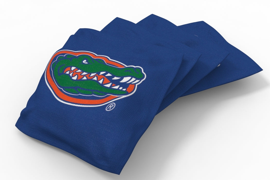 Florida Gators 2x4 Cornhole Board Set Onyx Stained - Uniform