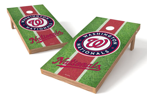 Washington Nationals 2x4 Cornhole Board Set - Field