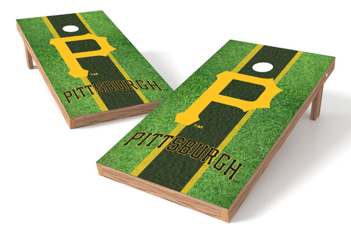 Pittsburgh Pirates 2x4 Cornhole Board Set - Field